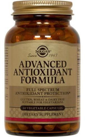 Solgar Advanced Antioxidant1 Formula Vegetable Capsules