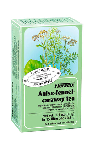 Anise-Fennel-Caraway Herbal Teabags