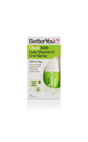 BetterYou DLux 3000 - Vitamin D Oral Spray - 15ml