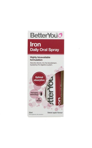 BetterYou Iron Daily Oral Spray 25ml