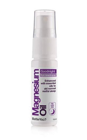 BetterYou Magnesium Oil Goodnight Travel Size Spray 15ml
