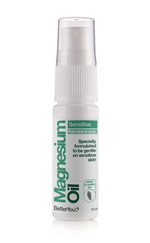 BetterYou Magnesium Oil Sensitive Travel Size Spray 15ml