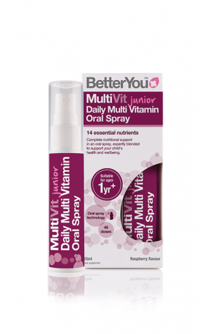 BetterYou MultiVit Junior Daily Oral Spray 25ml