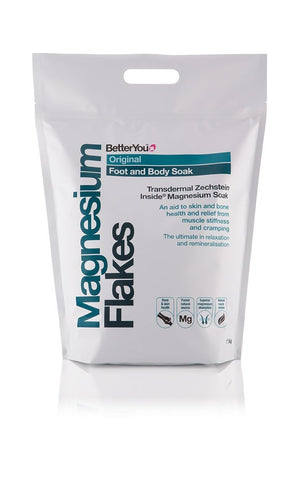 BetterYou Original Magnesium Flakes (Foot & Body Soak) - 5kg