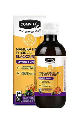Comvita Manuka Honey & Blackcurrant Elixir 200ML