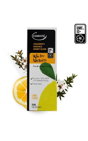 Comvita Manuka Children's Lemon & Honey Elixir 200ml