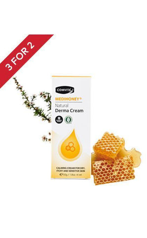 Comvita Medihoney Natural Derma Cream 50gr