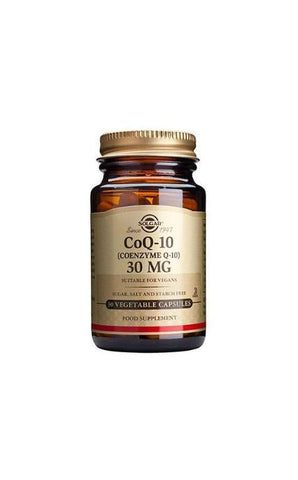 Solgar CoQ-10 30 mg Vegetable Capsules