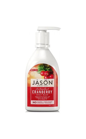 Cranberry Satin Body Wash