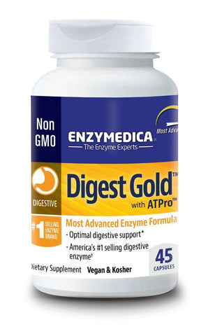 Enzymedica Digest Gold  Most Advanced Enzyme Formula 45 Capsules
