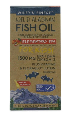 Wileys Finest Fish Oil  School Age Child