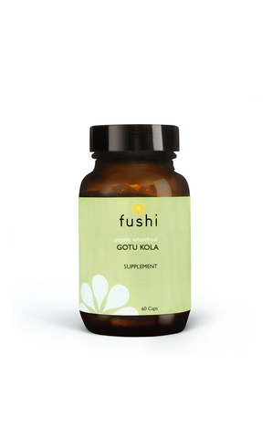Fushi GOTU KOLA CAPSULES, ORGANIC FRESH-GROUND 60 CAPS