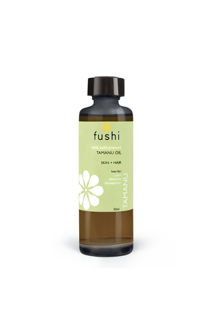Fushi TAMANU ORGANIC OIL VIRGIN 50ML FRESH-PRESSED