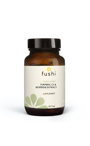 Fushi TURMERIC C3 & BIOPERINE EXTRACT (500MG HIGH STRENGTH) 60 CAPS