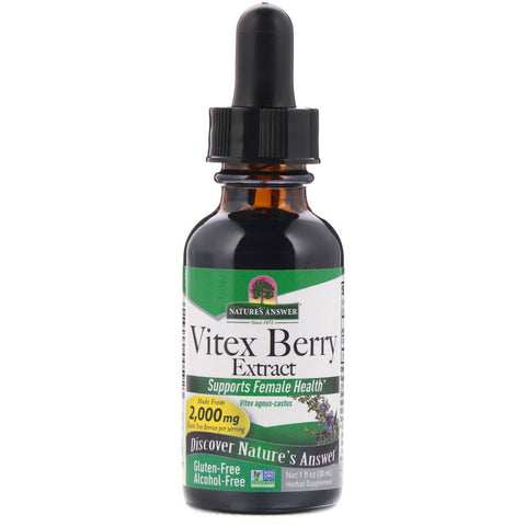 Nature's Answer Vitex berry Alcohol Free Fluid Extract - 30ml