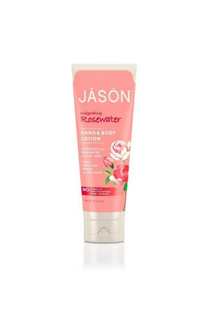 Jason Organic Rosewater Hand & Body Lotion 227g