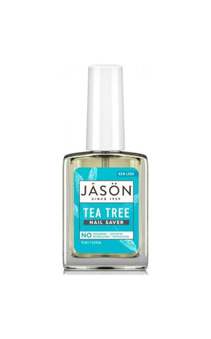Jason Organic Tea Tree Nail Saver 15ml