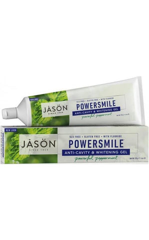 Jason Powersmile CoQ10 Anti-Cavity & Whitening Toothpaste with Fluoride 170g