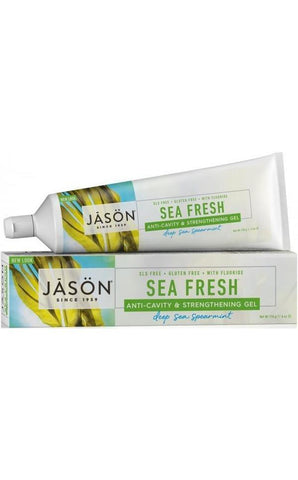 Jason Sea Fresh CoQ10 Anti-Cavity & Strengthening Toothpaste with Fluoride 170g