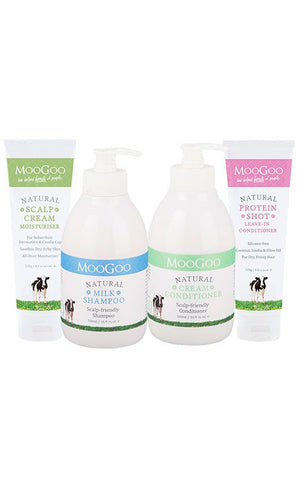 MooGoo Scalp and Hair Care Set