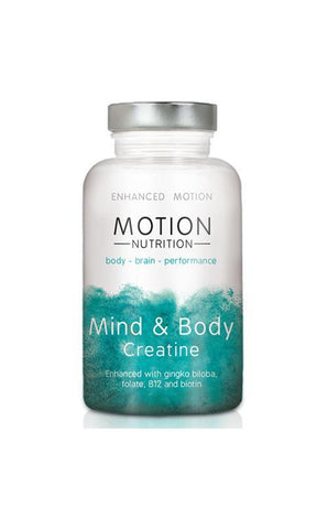Motion Nutrition Mind & Body Creatine  120 capsules – 30 days supply