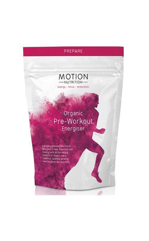 Motion Nutrition Organic Pre-Workout Energiser