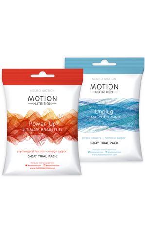 Motion Nutrition Power Up & Unplug Trial Pack