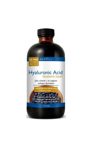 Neocell Hyaluronic Acid Blueberry Liquid 50mg / 473ml