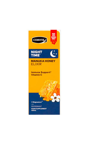 Comvita Night Time Manuka Honey Elixir with Magnesium and Vitamin C 100ML