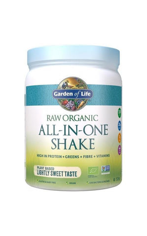 Organic All-in-One Shake Lightly Sweet