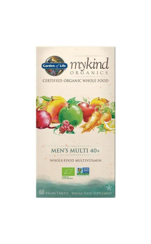 Organic Men's 40+ Multi 60 Tablets