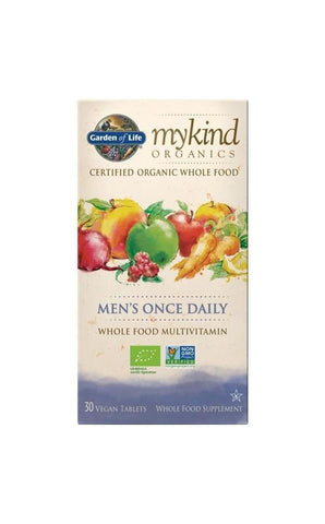 Organic Men's Once Daily 30 Tablets