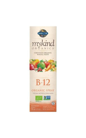 Organic Organic B12 spray 58ml