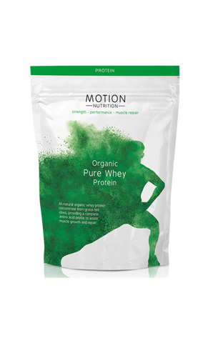 Organic Pure Whey Protein 480g