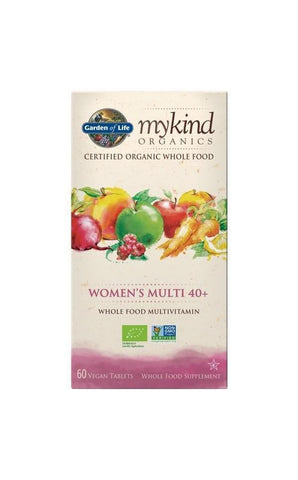 Organic Women's 40+ Multi 60 Tablets