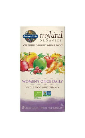 Organic Women's Once Daily 30 Tablets