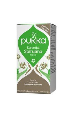 Pukka Essential Spirulina 400 Tablets