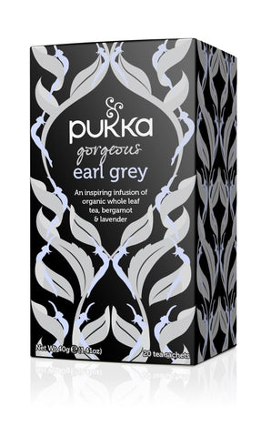 Pukka Gorgeous Earl Grey Tea 40g