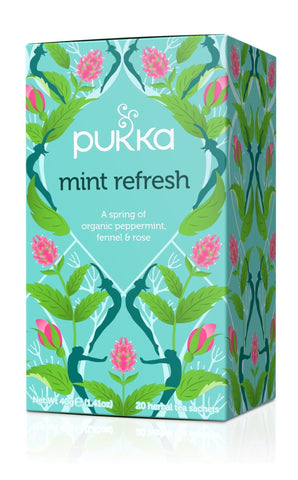 Pukka Mint Refresh Tea 40g