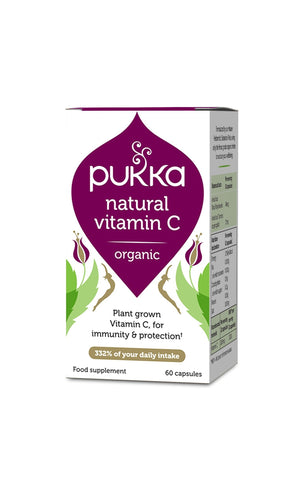 Pukka Natural Vitamin C 60 Capsules