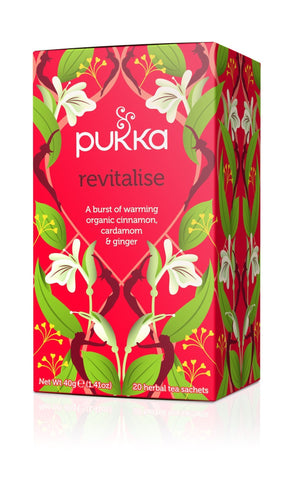 Pukka Revitalise Tea 40g