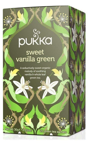 Pukka Sweet Vanilla Green Tea 30g