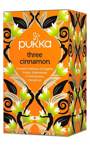 Pukka Three Cinnamon Tea 40g