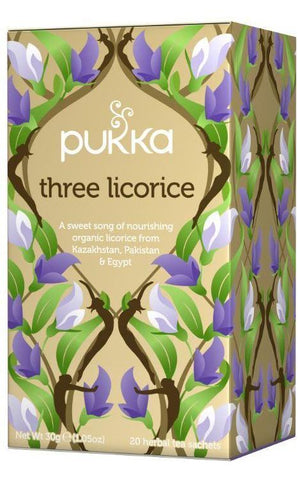 Pukka Three Licorice Tea 30g