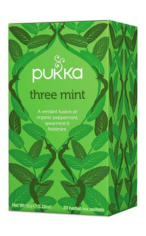 Pukka Three Mint Tea 32g