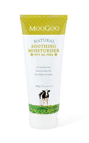 MooGoo Soothing MSM Cream Nut Oil 200g