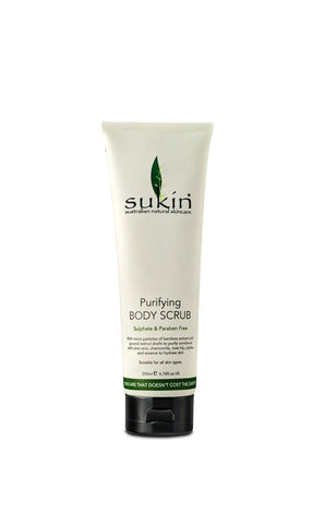 Sukin Body Scrub 200ml - Natural exfoliating body scrub