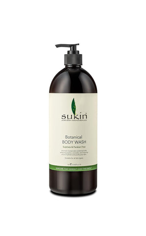 Sukin Botanical Body Wash Refill (Cap) 1litre
