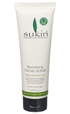 Sukin Facial Scrub - Natural Face Scrub 125ml