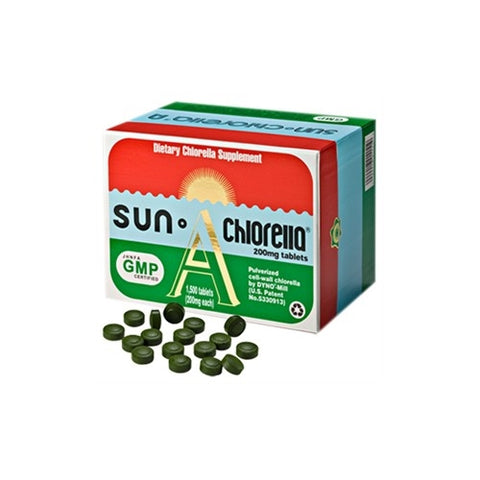 SUN CHLORELLA® 'A'  1500 TABLETS